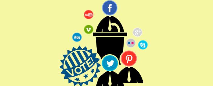 Las redes sociales en la política