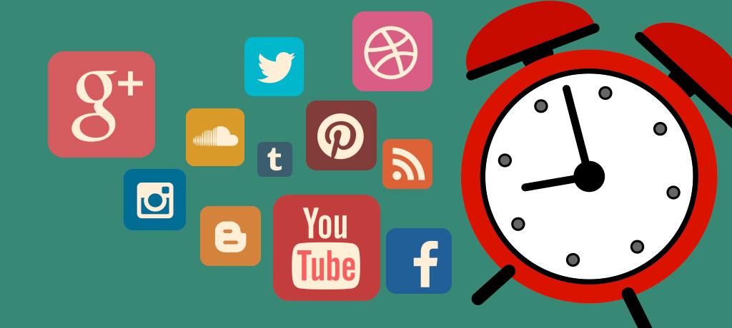 El factor tiempo en las redes sociales