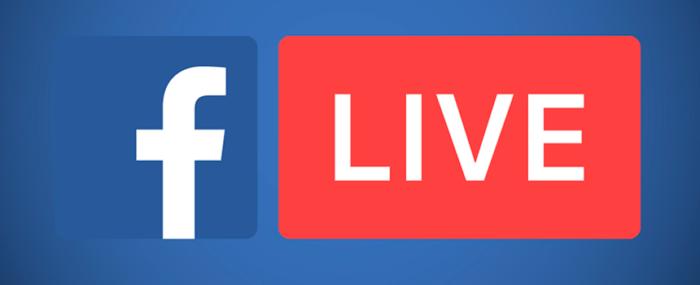 Facebook Live: transmisiones en directo